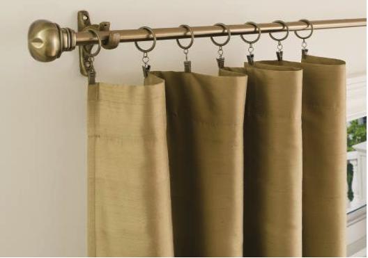 como hacer cortinas con aros de diferentes dise os