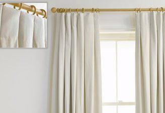 Como hacer unas cortinas de tablas, y cambia el estilo de decoración