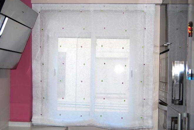 Visillos para puertas de cocina affordable cortinas - Visillos de cocina ...