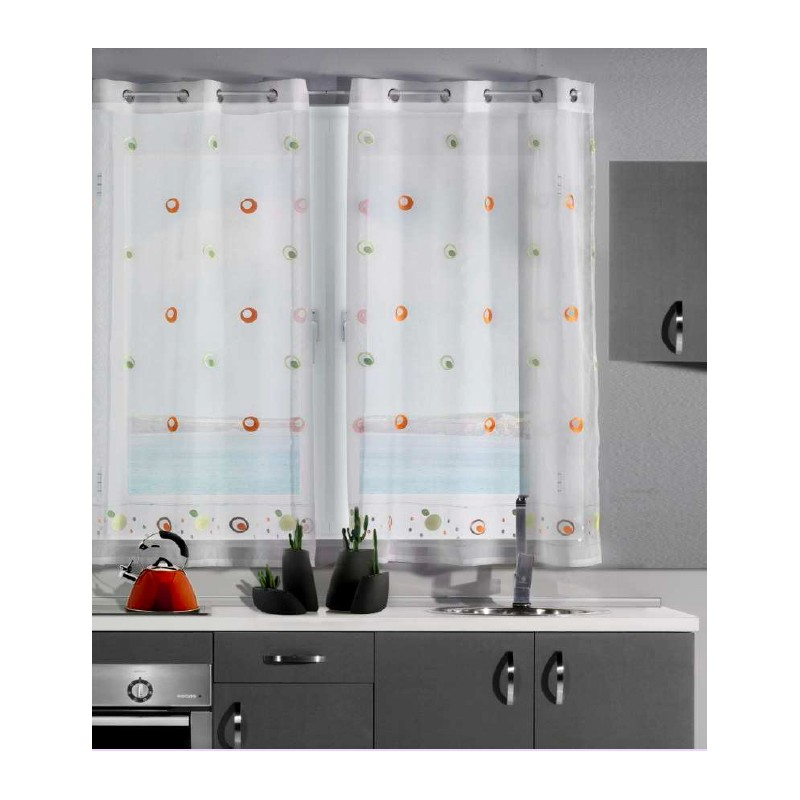 Cortinas cocina baratas how to make curtains out of twin - Visillos a medida ...
