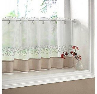 Como hacer visillos para ventanas, dependiendo de la decoración