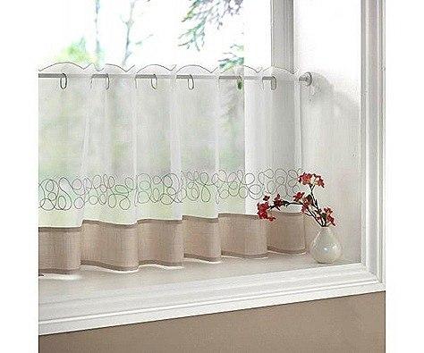 Como hacer visillos para ventanas de manera f cil - Como hacer visillos ...