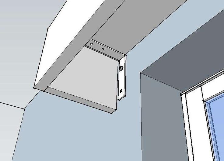 Como hacer cenefas de madera para cortinas aprende el proceso for Bases para colgar cortinas