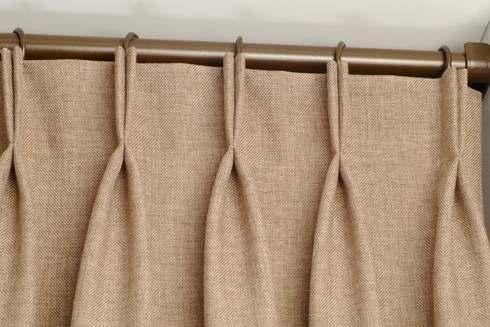 Como hacer cortinas de visillos con procedimientos sencillos for Ganchos para cortinas de tela