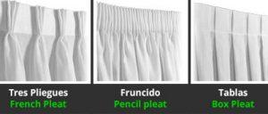 como hacer cortinas de visillos