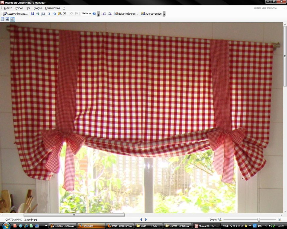 Cortinas cocina baratas cheap byetee telas jacquard for Cortinas salon baratas