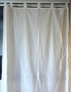 como hacer cortinas con trabillas