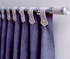 Como hacer cortinas con trabillas en modelos convencionales - Tipos de cintas para cortinas ...