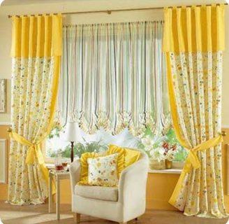 Como hacer cortinas dobles, hermosas y elegantes