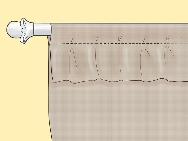 Como hacer cortinas dobles en diversos modelos elegantes for Como hacer cortinas corredizas