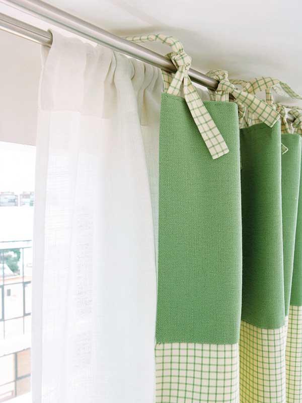 Como hacer cortinas faciles y bonitas aprende varios estilos - Cortinas con trabillas ...