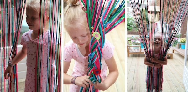 Como hacer cortinas faciles y bonitas aprende varios estilos - Como hacer cortinas de tiras ...