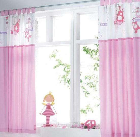 C mo hacer cortinas infantiles para el cuarto de tu peque o - Cortinas habitaciones infantiles ...