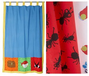 Cómo hacer cortinas infantiles