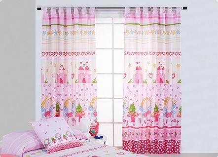 C mo hacer cortinas infantiles para el cuarto de tu peque o - Telas cortinas infantiles ...