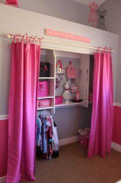 C mo hacer cortinas para closets con tiras amarrables for Como hacer una cortina para exterior