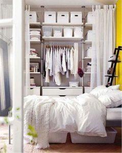 Cómo hacer cortinas para closets