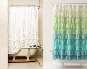 como hacer cortinas para ducha