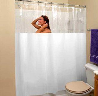 Como hacer cortinas para duchas, en varios diseños