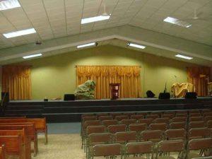 Cómo hacer cortinas para iglesias