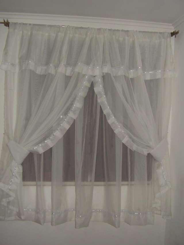 C mo hacer cortinas rom nticas con faralaos en el interior - Dobladillo cortinas ...