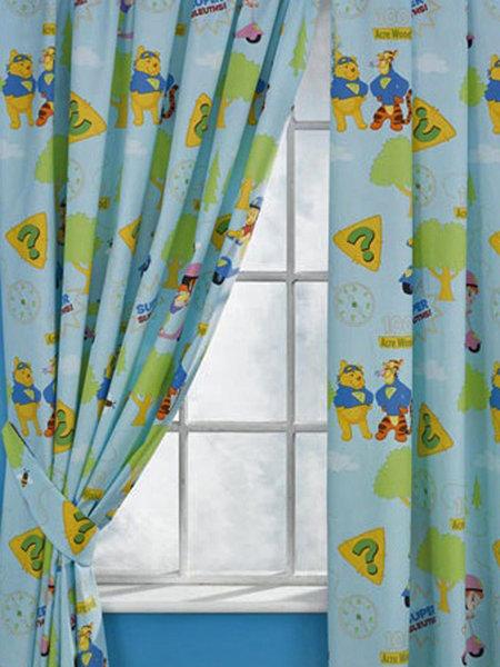 Como hacer unas cortinas para recamara infantil unisex for Cortinas para cuarto de bebe