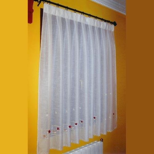 Colgar visillos sin agujeros cmo instalar cortinas sin for Sistemas para colgar cortinas