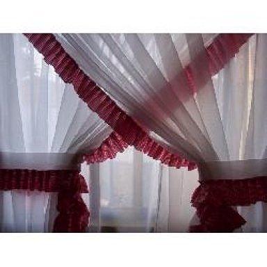 C mo hacer visillos cruzados con tela muy liviana para tu casa - Telas para visillos cortinas ...