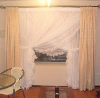 Como hacer cortinas y cenefas aprende hacer cortinas - Como hacer visillos ...